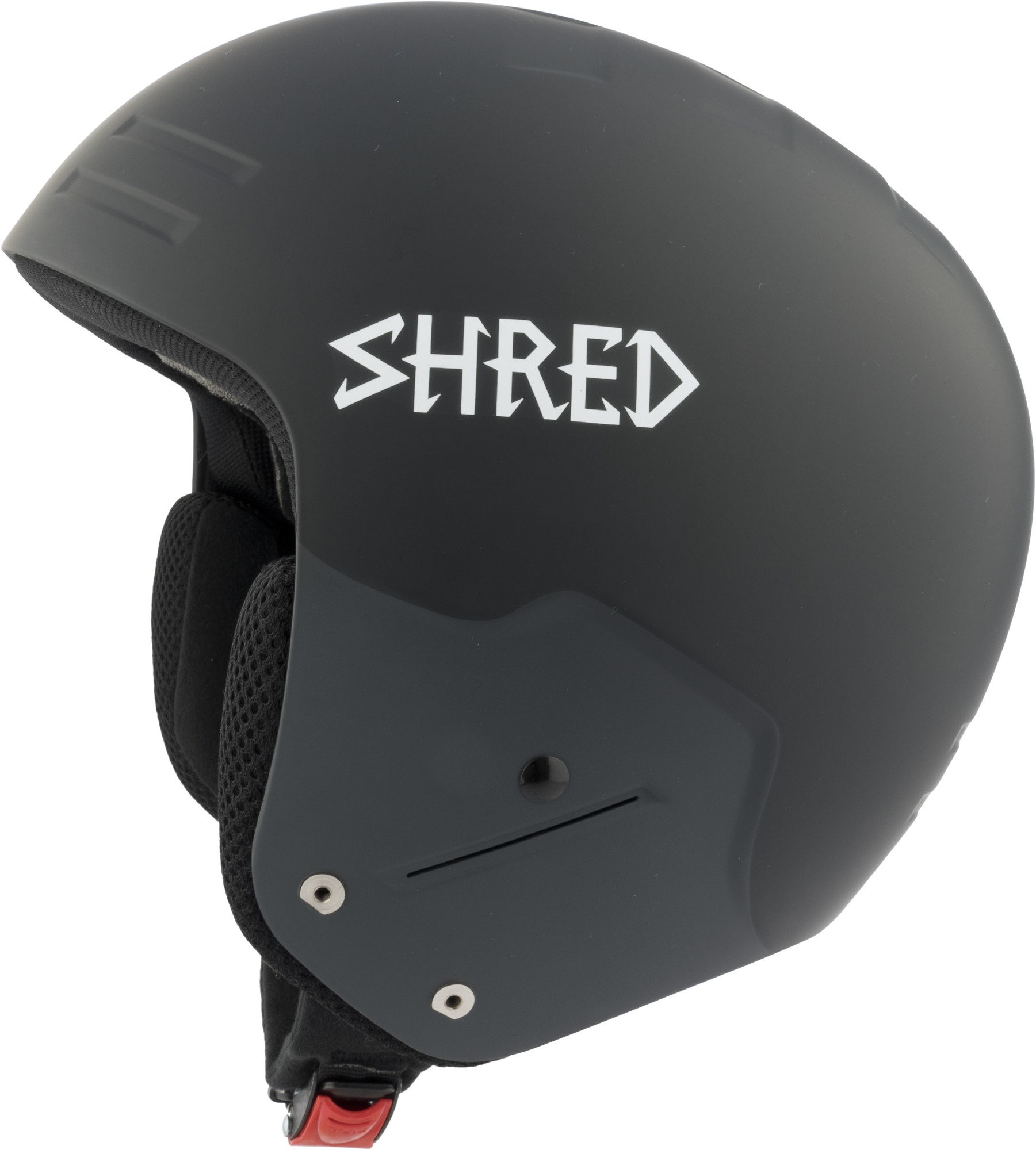 Shred FIS BASHER NoShock Blackout ski helmet, 2018