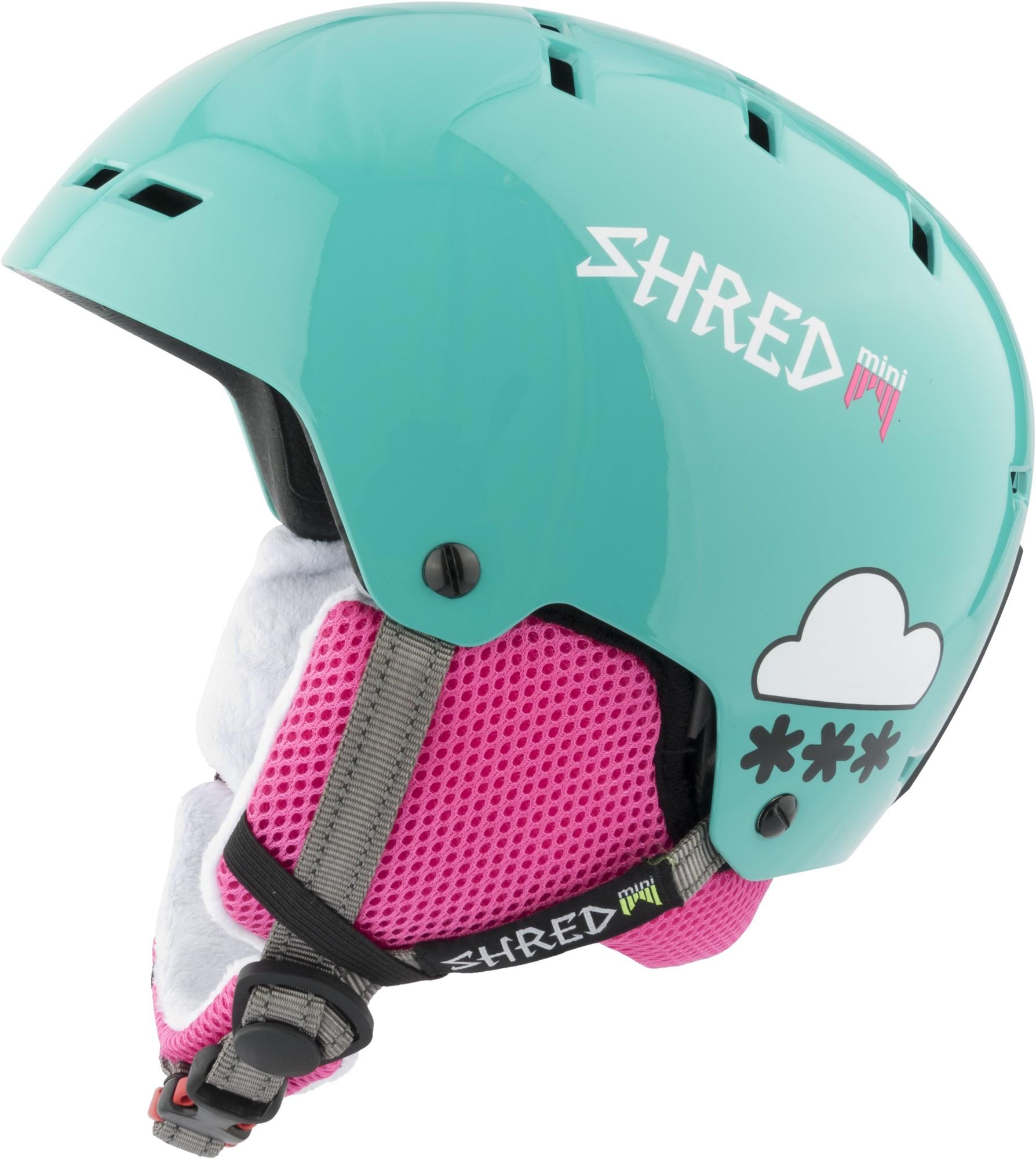 Shred BUMPER warm MINI AIR MINT ski helmet, 2017