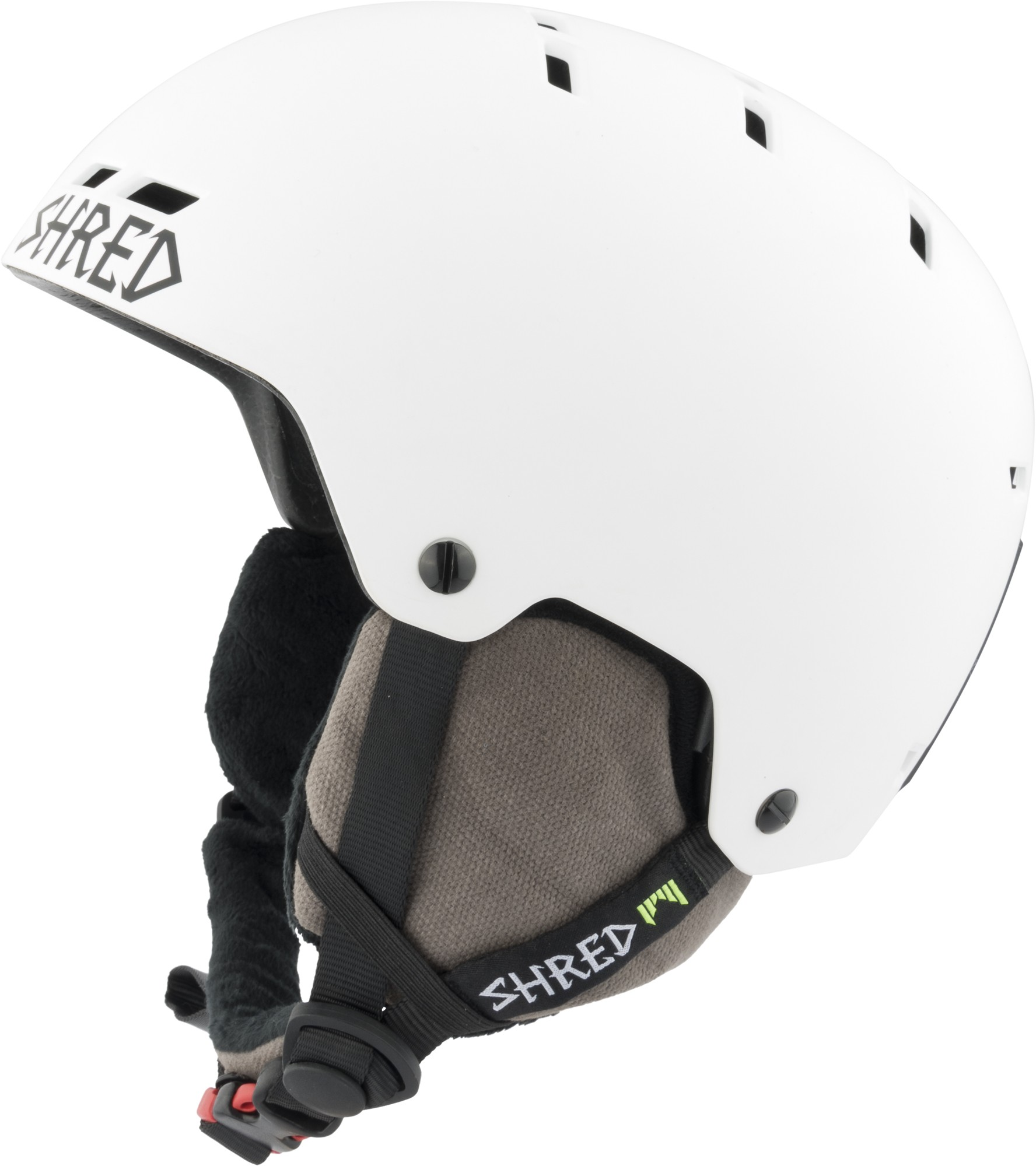 Shred BUMPER NoShock warm BLEACH ski helmet, 2017