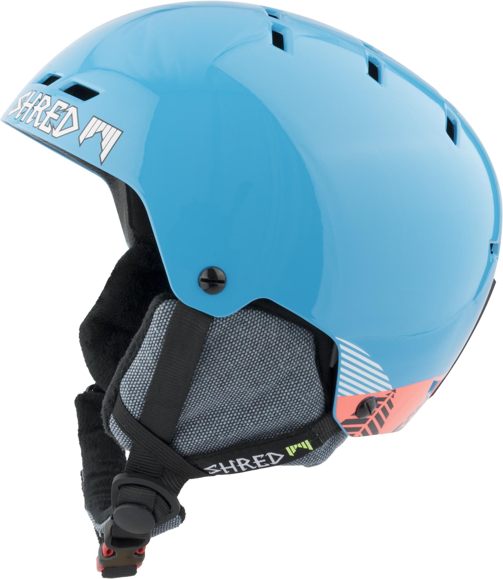 Shred BUMPER NoShock warm TIMBER ski helmet, 2017