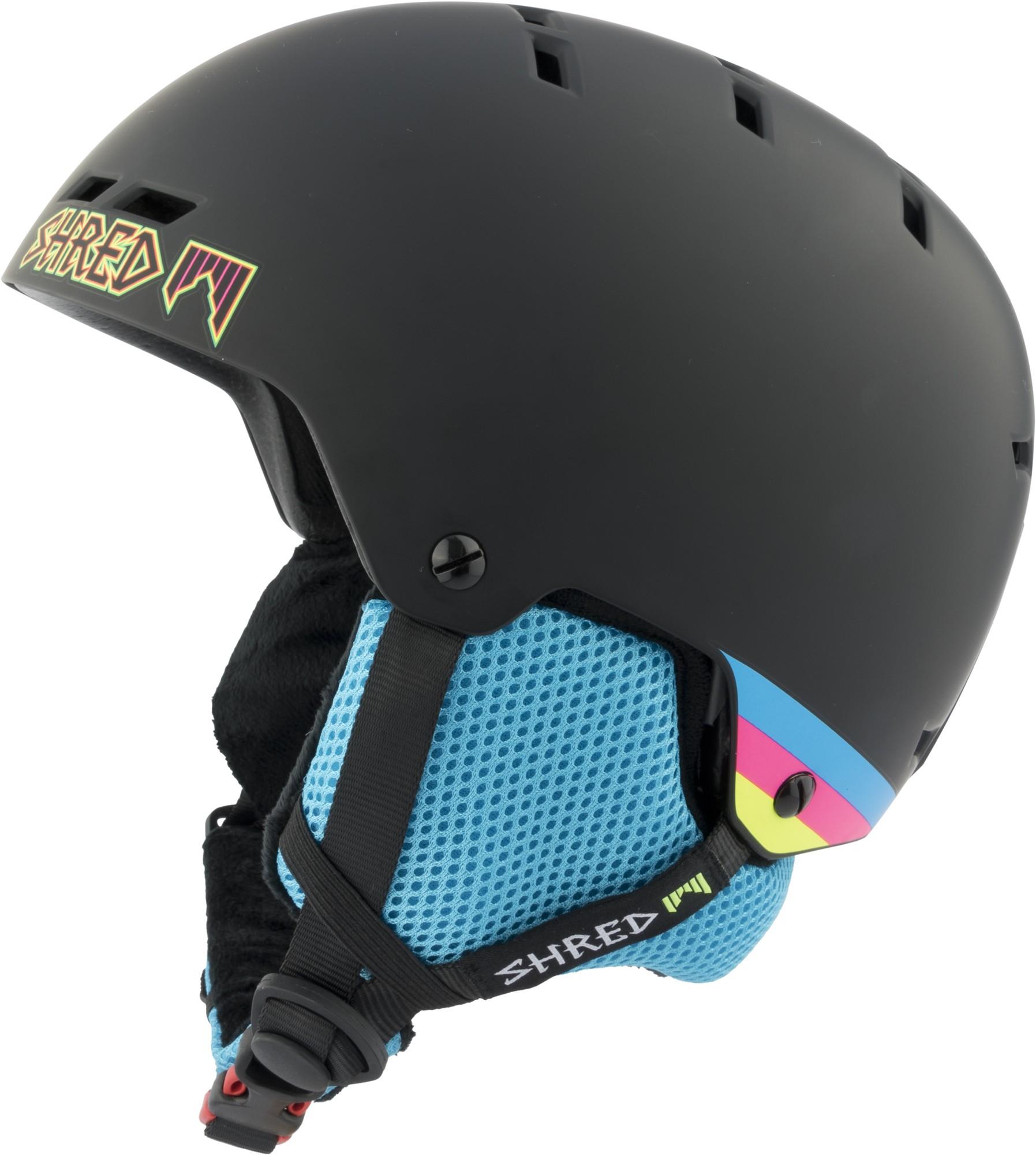 Shred BUMPER warm SHRASTA ski helmet, 2017