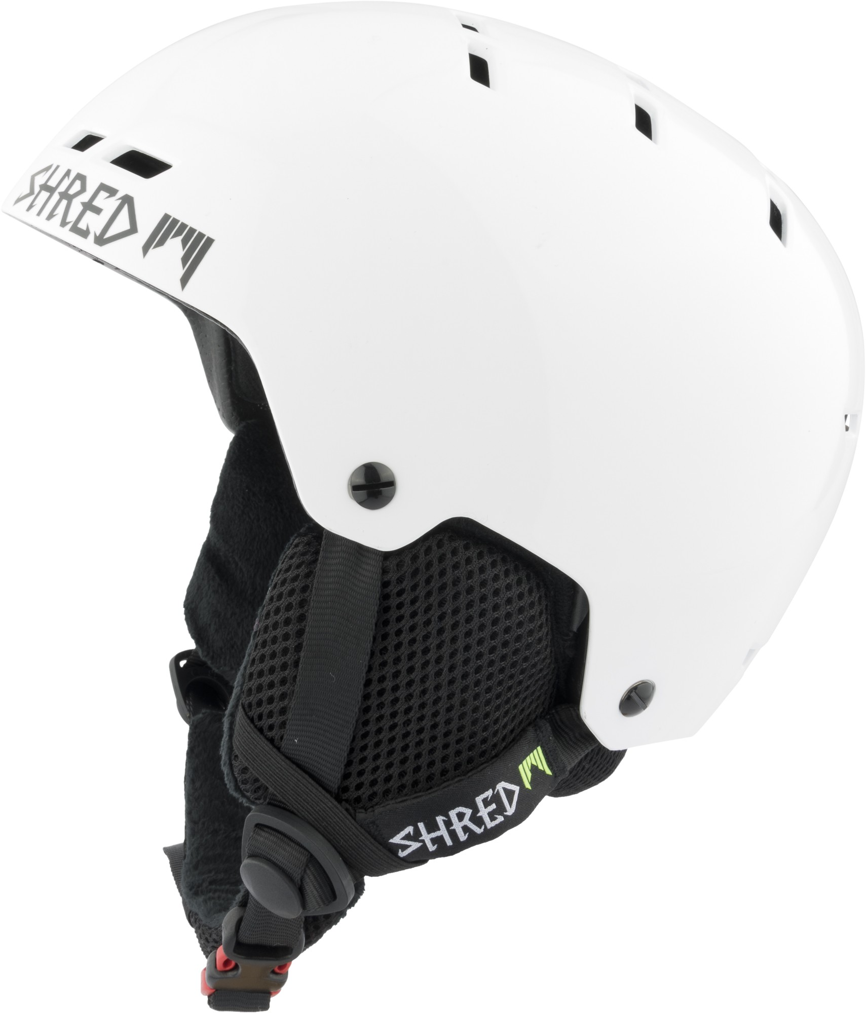 Shred BUMPER warm WHITEOUT ski helmet, 2018