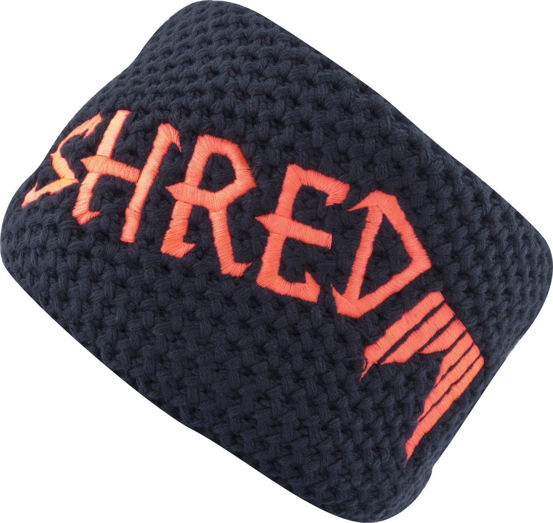 Shred Heavy knitted headband - navy blue