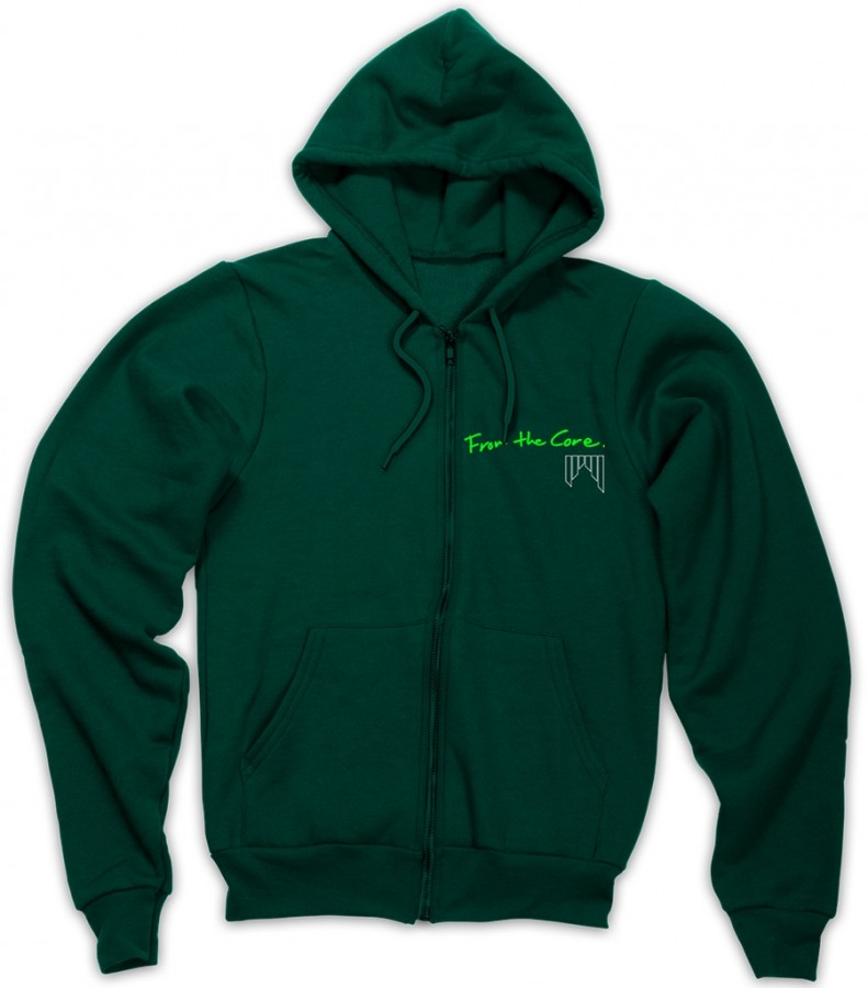 Shred Unisex FTC Hoodie - green