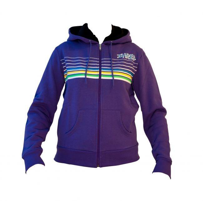 shred hoodie lines purple