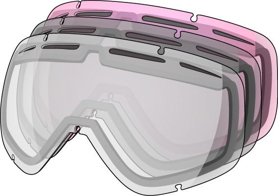 Shred Hoyden & Mini Kit 3 lenses mixed colours