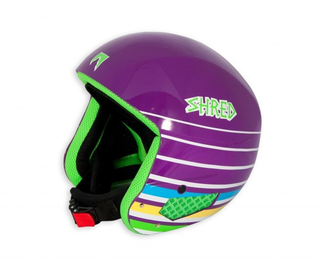 Shred mega brain bucket lines purple