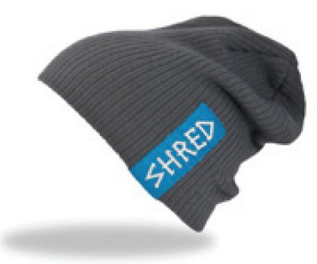 Shred PARK beanie - grey