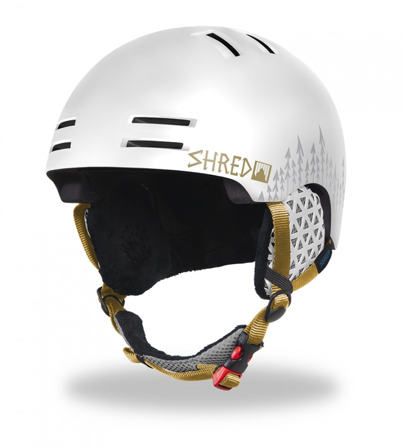 Shred ski helmet SLAM CAP Noseason - White Out