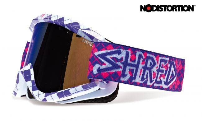 Smučarska očala Shred Soaza Nastify Redux vijolična