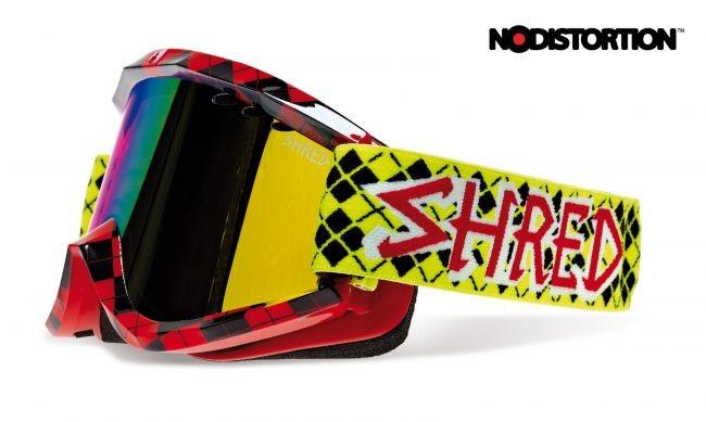 Smučarska očala Shred Soaza Nastify Redux - rdeča