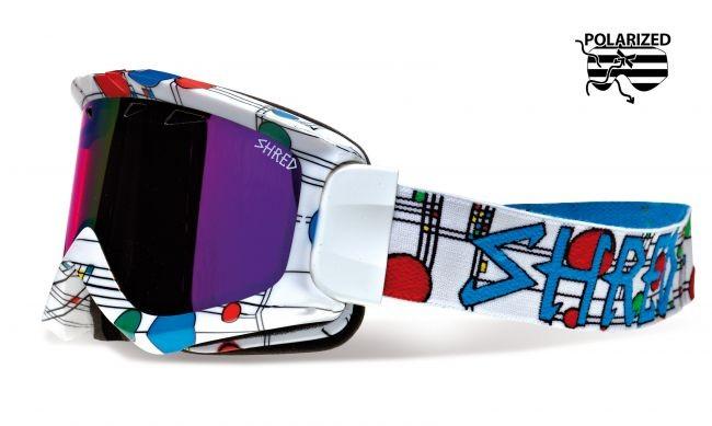 Shred smučarska polarizirana očala YONI - The Right
