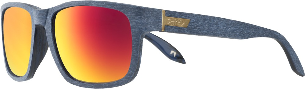 Shred Stomp Brushed Royal Sunglasses
