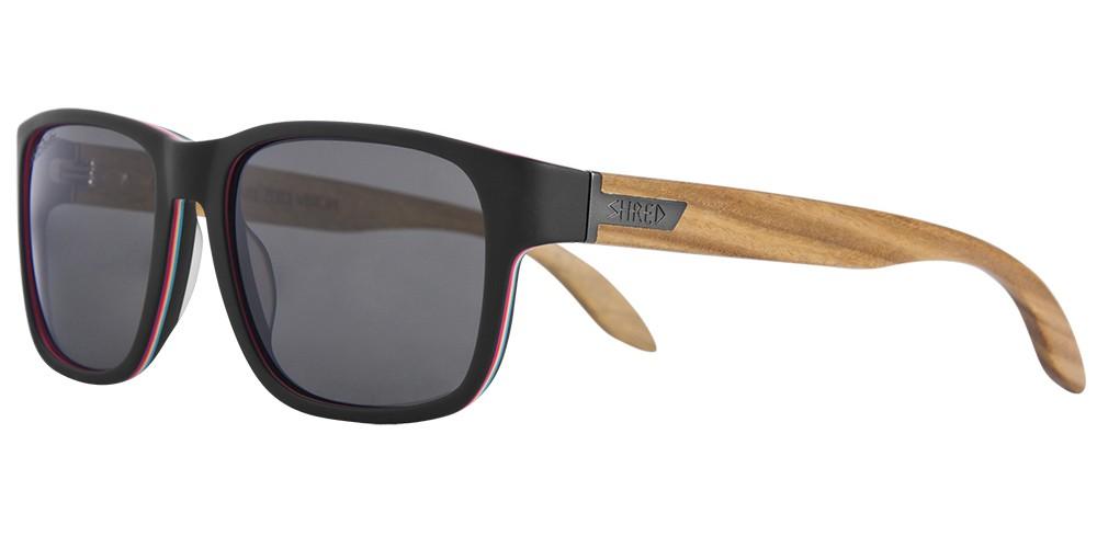Shred STOMP ShrastaWood polarized sunglasses