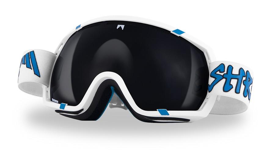 Polarized ski goggles Shred Stupefy - WHITEY polar