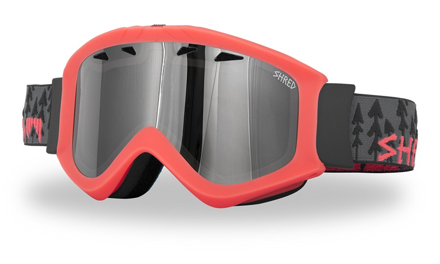 Ski goggles Shred Tastic - FOREST NEON RUST