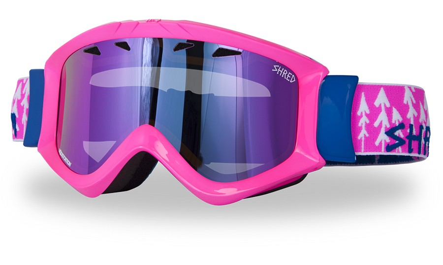 Ski goggles Shred Tastic - FOREST PINK