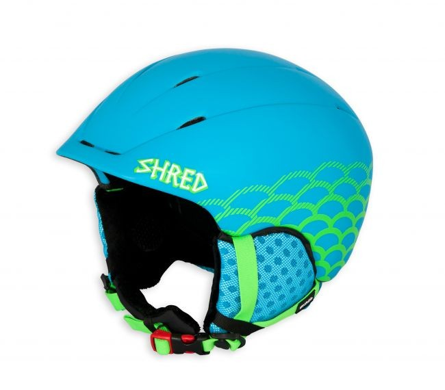 Shred smučarska čelada toupee carpa blue