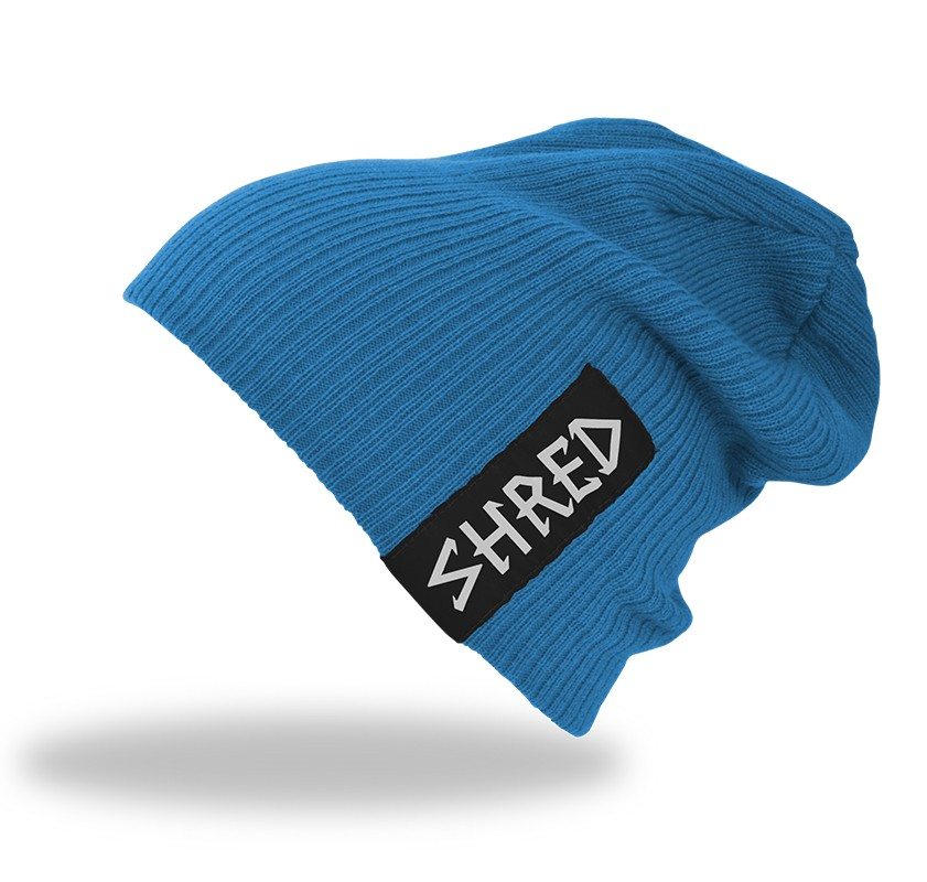 Shred PARK beanie - blue