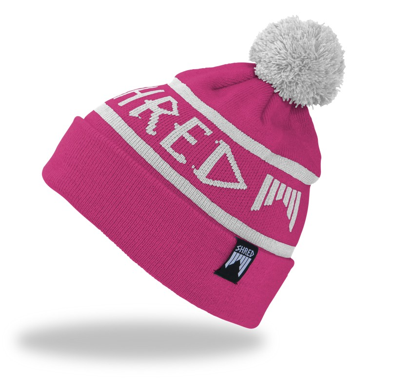 Shred WOODSIDE beanie - pink