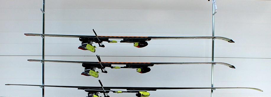 Snoli framework for 4 skis