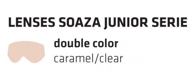 Double spare lenses for Shred SOAZA JUNIOR, caramel