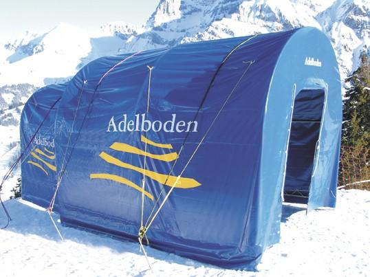 Start tent