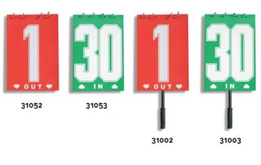 stevilke za menjavo igralcev