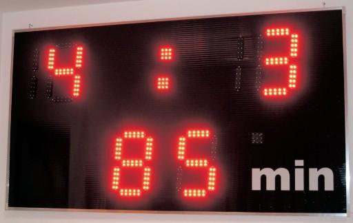 elektronska tabla za nogomet