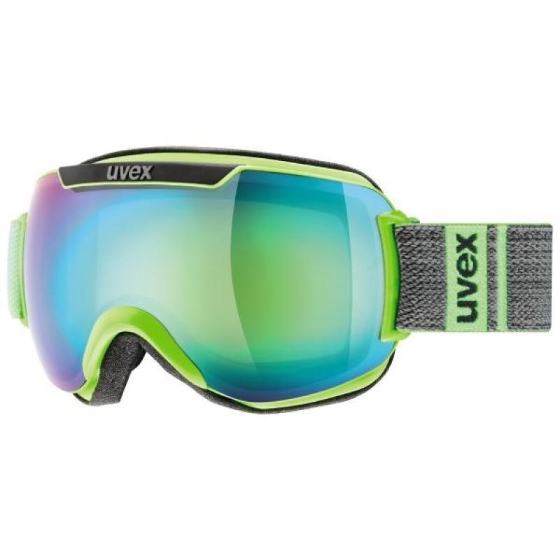 Uvex Downhill 2000 FM lime/grey mat ski goggles