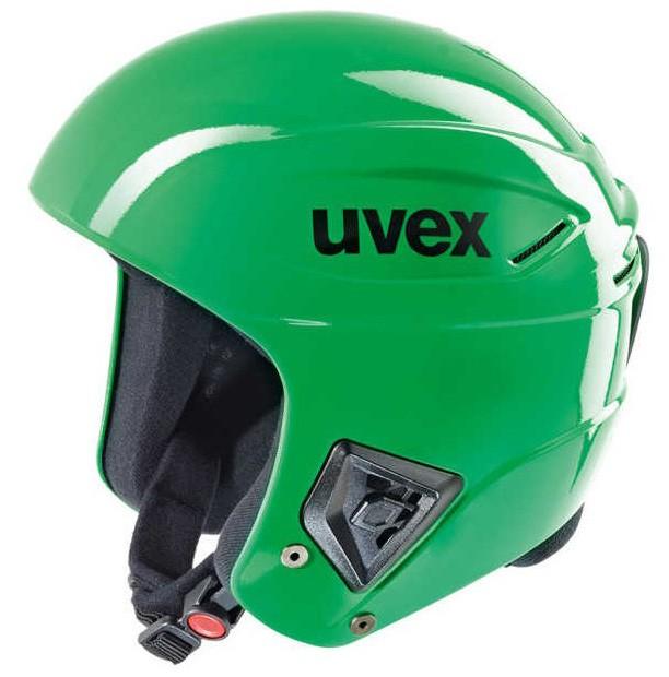 Uvex race + FIS ski helmet green, 2017