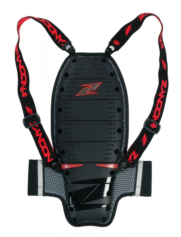Zandona spine kid's back protector - 8 plates