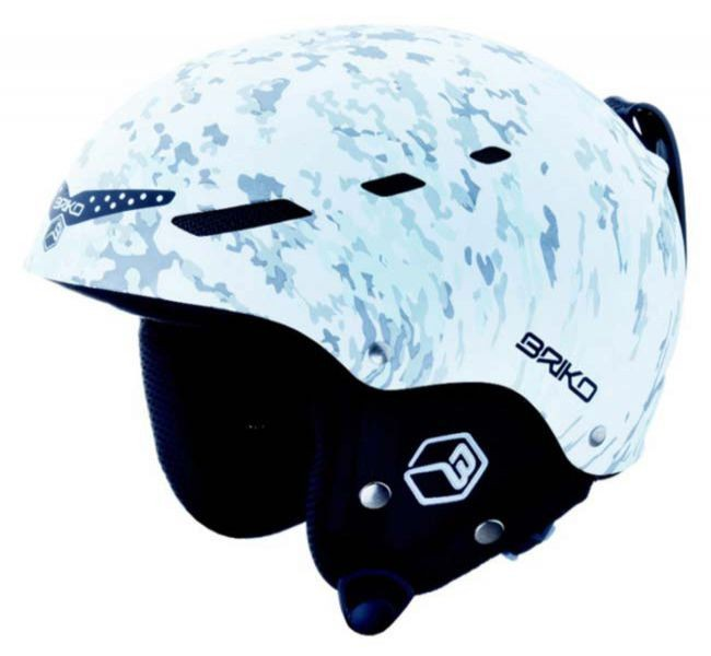 Briko helmet BOOM - Camu snow, L
