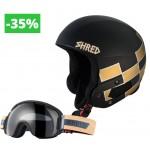 Shred set Brain Bucket Raptor (Lara Gut) + Smartefy Shrastawood