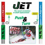 Liski JET system FIS WC slalom flex poles (fi30 mm and fi 27 mm)