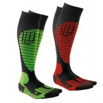 cep skiing socks racing green