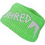 Shred Heavy knitted headband - green