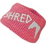 Shred Heavy knitted headband - pink