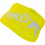 Shred Heavy knitted headband - yellow