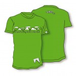 Shred majica t shirt needmoresnow zelena