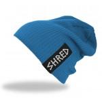 Shred PARK beanie - blue
