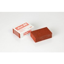 Rubber polishing block - medium