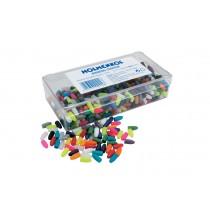 Holmenkol Plastic plugs (mixed colour) - 4.5mm