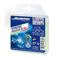 Holmenkol fluor wax SYNTEC WorldCup HF - MID