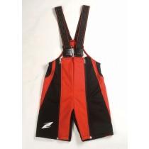 Zandona wormup 1/2 Pants - red, L