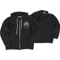 Shred DASHED eu zip women's hoodie