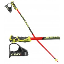 Leki WC Lite GS TR-S, junior GS ski poles, 2017