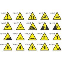 14101 Trikotna signalna plosca - nevarnosti