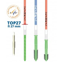 Liski Flex pole TOP 27 with plastic flex zone