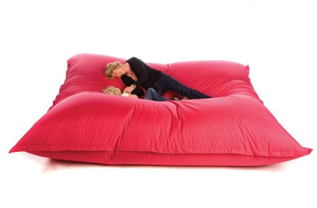 bean bag sit on it xxl funky fucshia. Black Bedroom Furniture Sets. Home Design Ideas